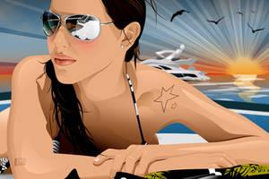Luisa Abadia by jorgepacker