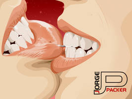 Wild kiss by jorgepacker