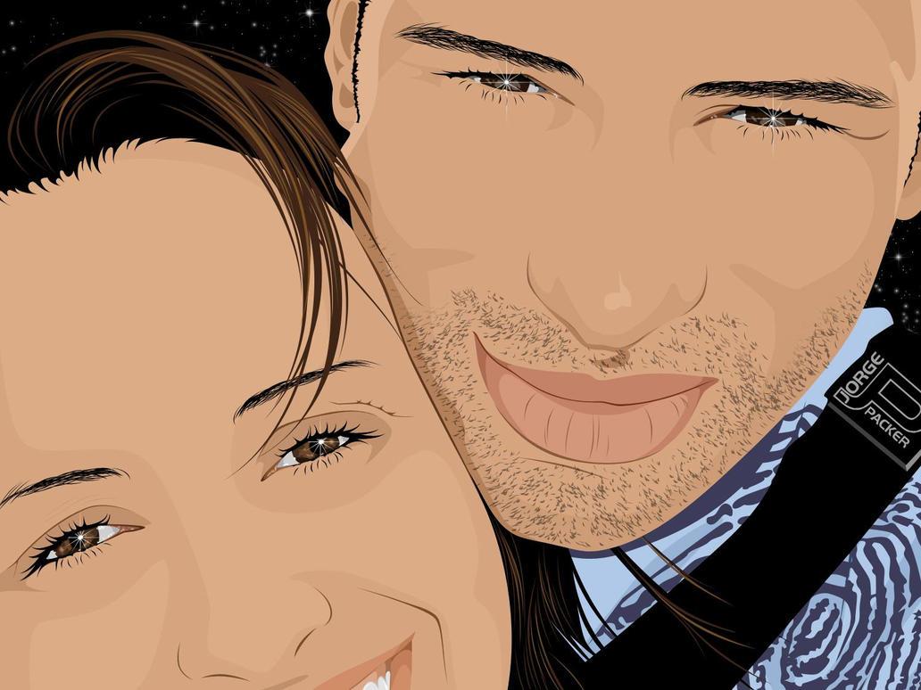 Katia e marido by jorgepacker