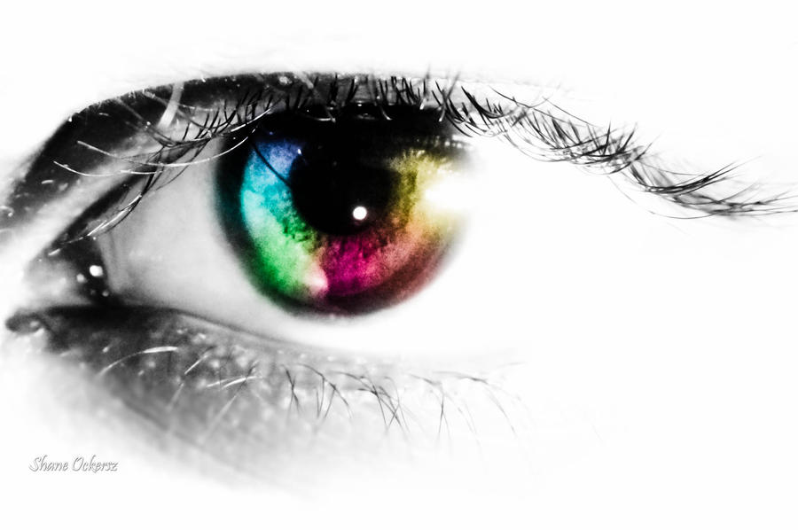 Colorful Eye Photography Colorful Eye by Ockerszzz