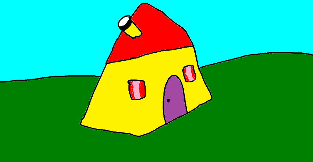 Blue S Clues House Picture From What Did Blue See By