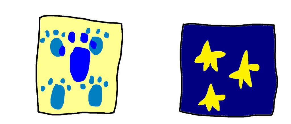blue s clues four little prints by titan994 on deviantart