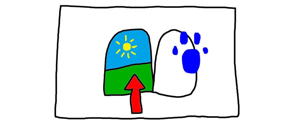 Blue S Clues A Door With An Arrow By An994