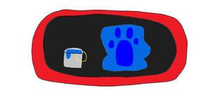 Blue's Clues FELTFRAME 106