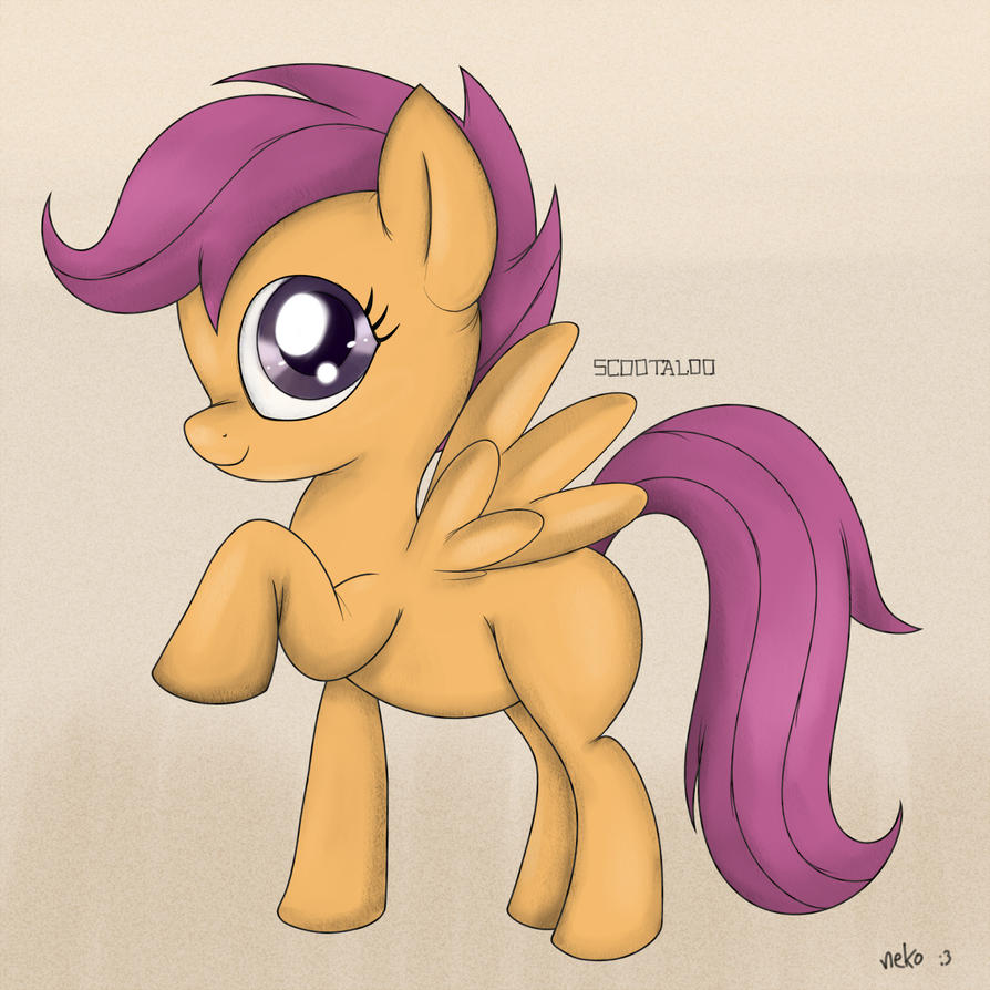 Scootaloo by McSadat
