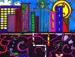 illusiv.cityscape by angelikamarie