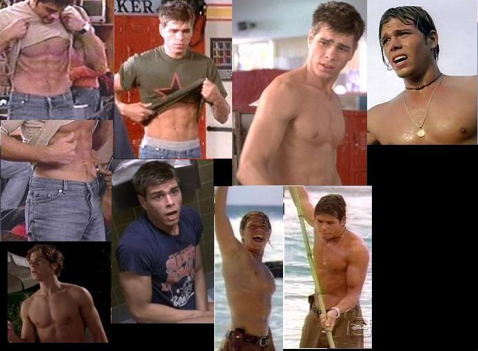 Matthew Lawrence SHIRTLESS collage by slayerxy