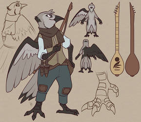 Symphony Dusttail Ref by aki-ta