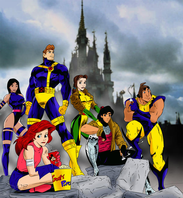 Disney's X-Men by wingzero620