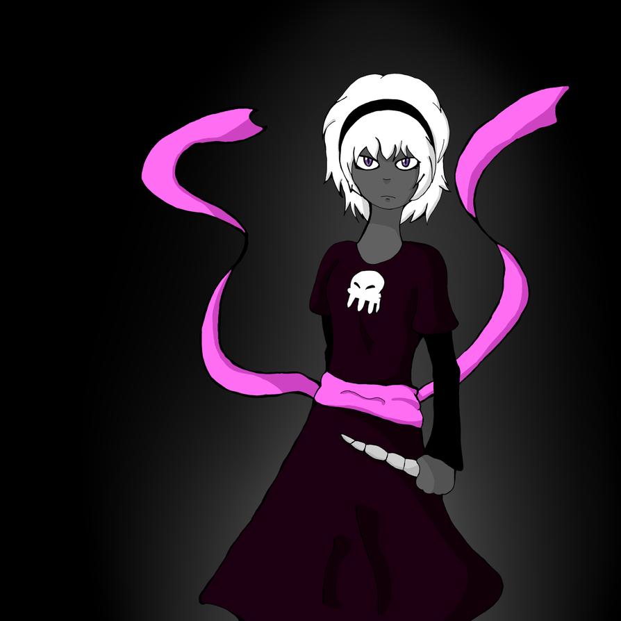 Grim dark rose by PBunny97