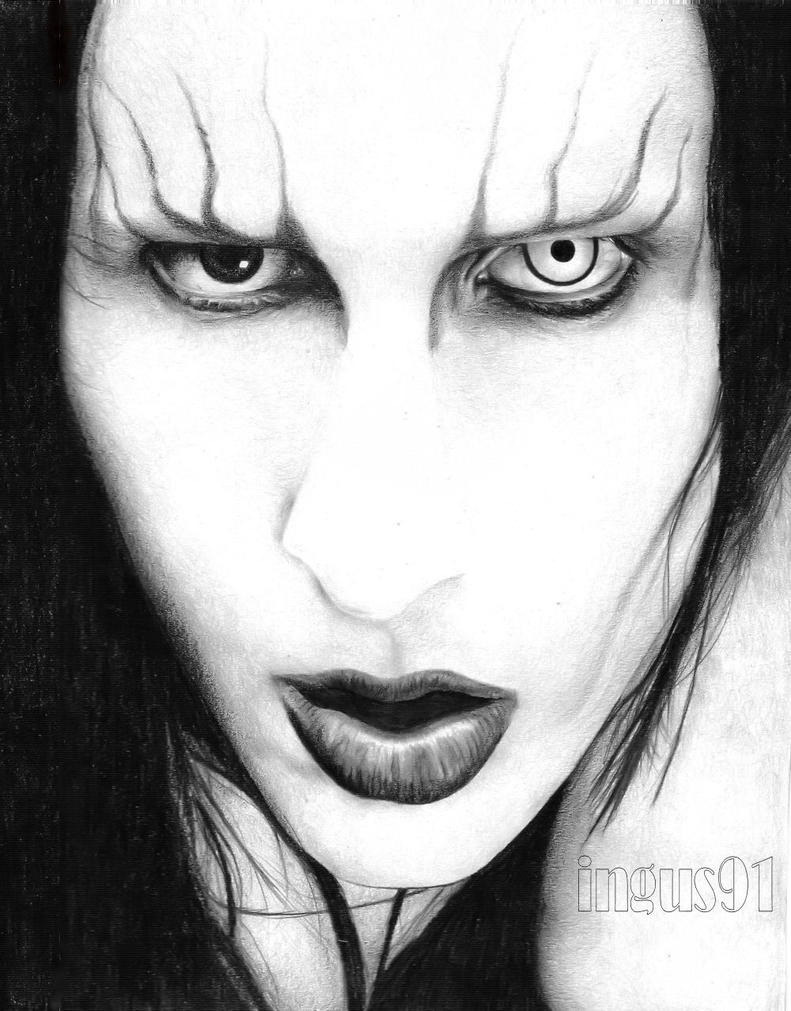 Marilyn Manson by ingus91