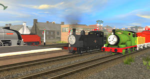 Percy meets Jinty on the Mainland