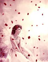 Alone Rose by DigitalDreams-Art