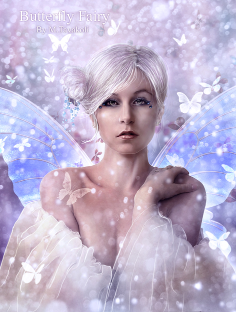 Butterfly Fairy by DigitalDreams-Art