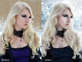 Frozen Heart Before-After by DigitalDreams-Art