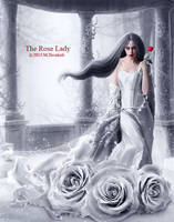 The Rose Lady by DigitalDreams-Art