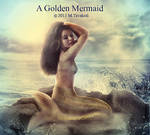 A Golden Mermaid