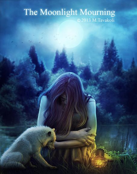 Moonlight Mourning by DigitalDreams-Art