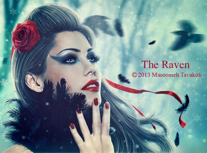The Raven by MasoumehTavakoli