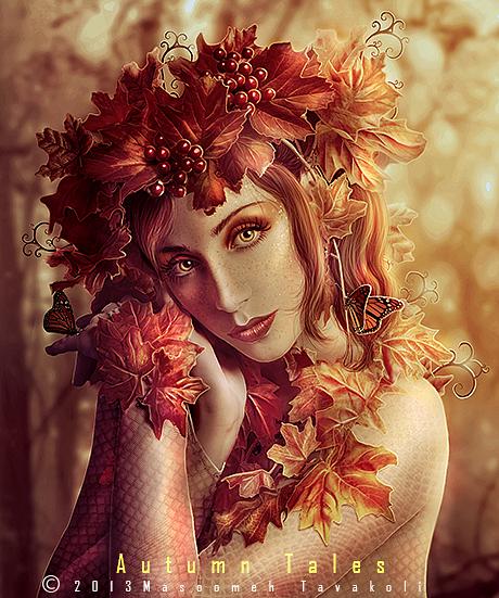 Autumn Tales by DigitalDreams-Art