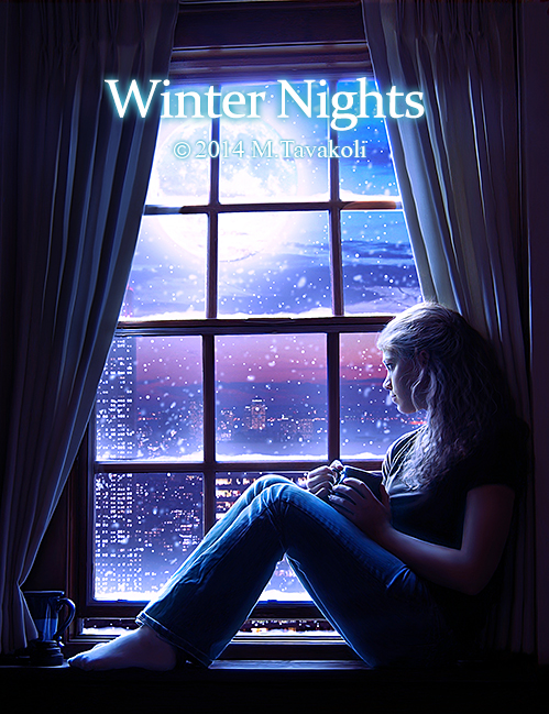 Winter Nights by MasoumehTavakoli-Art