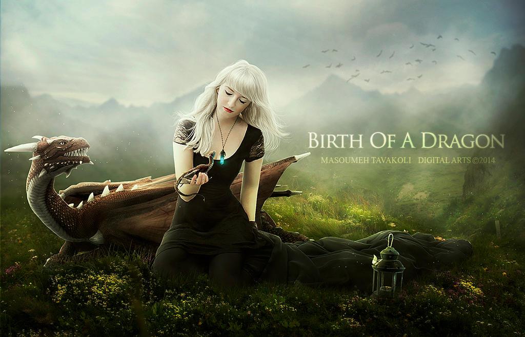 Birth Of A Dragon 1 by DigitalDreams-Art