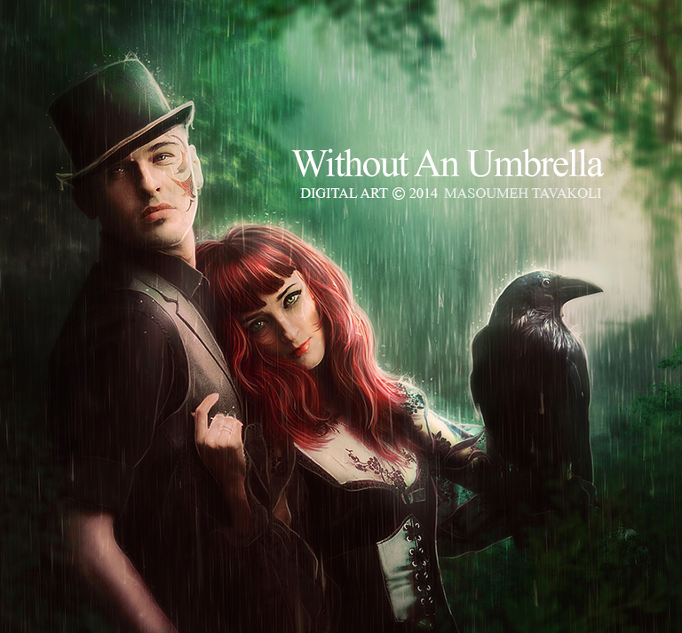 Without An Umbrella by DigitalDreams-Art