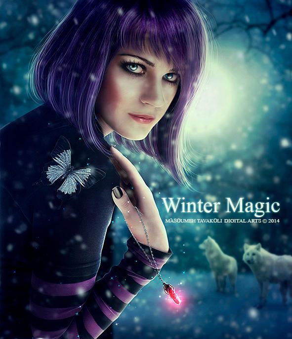 Winter Magic by DigitalDreams-Art