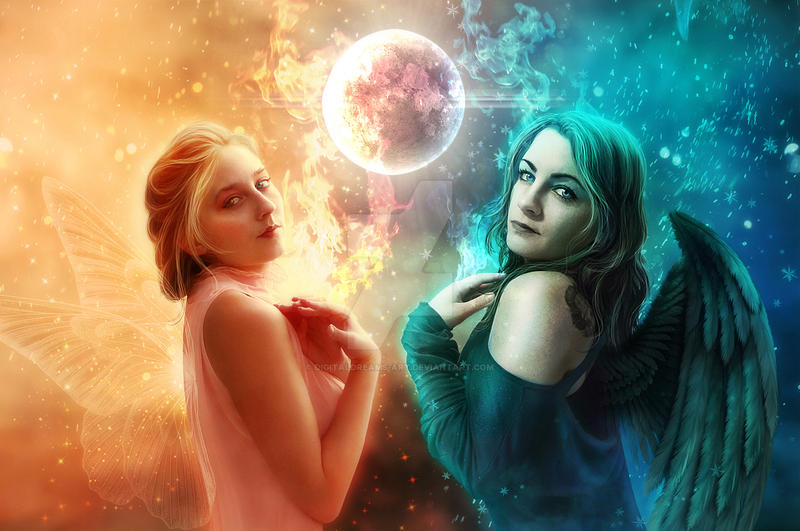 Different Worlds by DigitalDreams-Art