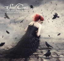 Sad Crow by DigitalDreams-Art