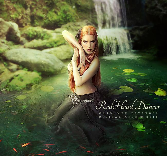RedHead Dancer by DigitalDreams-Art