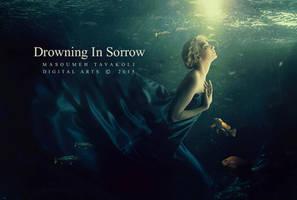 Drowning in sorrow by DigitalDreams-Art