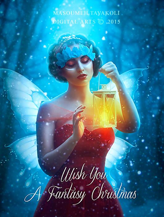 Fantasy Christmas by DigitalDreams-Art