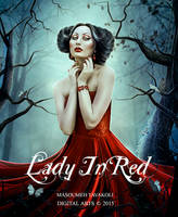 Lady In Red by DigitalDreams-Art