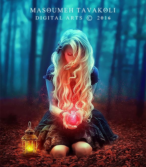 Red Magic by DigitalDreams-Art