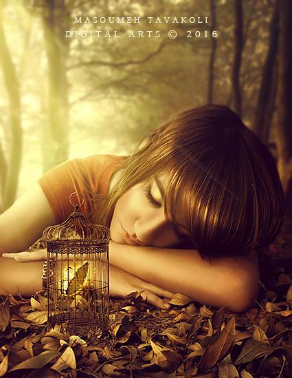 Caged Dreams by DigitalDreams-Art