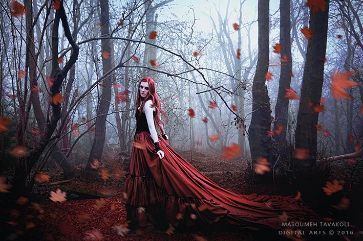 Autumn Garden by DigitalDreams-Art