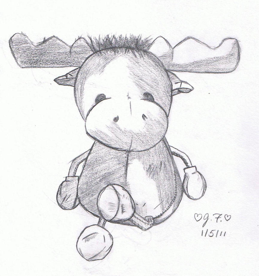 Moose by aramintaXkazemaru