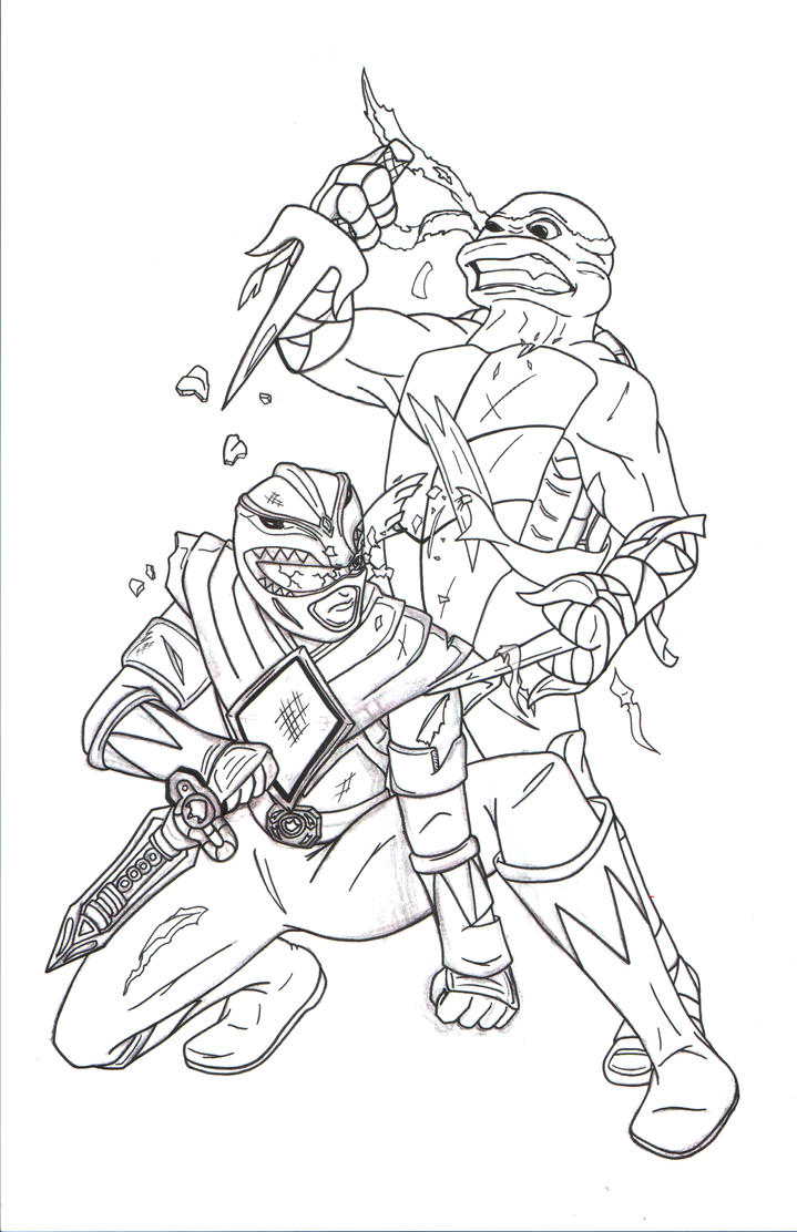 Power ranger morpher free colouring pages for Power rangers coloring pages