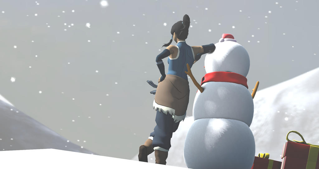 Korra Christmas [SFM] by d4rkm4nolo