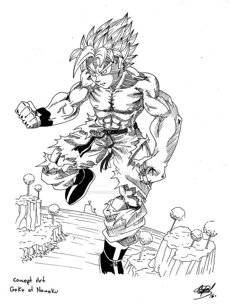 Goku by RuffyodeDraw