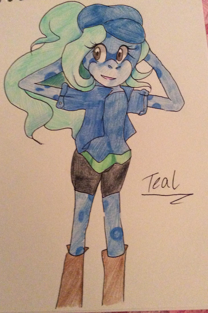 Teal by TriickyStaR