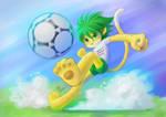 Zakumi Mascot FWC2010