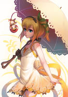 Edna from Tales of zestiria Fan art by orangedk