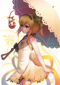 Edna from Tales of zestiria Fan art