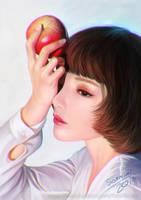 Portrait Painting study by orangedk