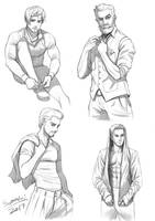 Man Drawing Practice by orangedk