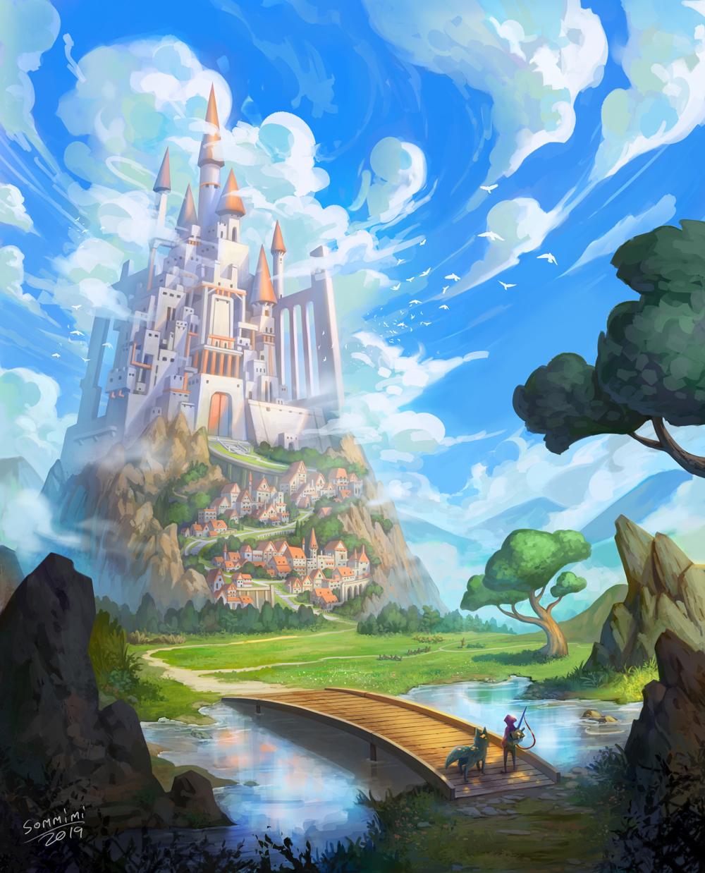 EnvironmentPractice CastleSkyHigh