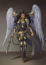 Commission For DirkJones 'Sonya character'