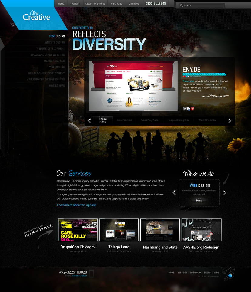 Clowcreative Portfolio 2011